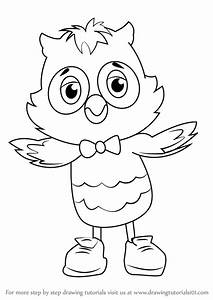 daniel tiger coloring pages - learn how to draw x the owl from daniel tiger 39 s
