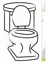 Toilet Seat Toilette Clip Cartoon Sitz Oben Clipart Sede Coloring Toletta Open Template Poop Templates Bild sketch template