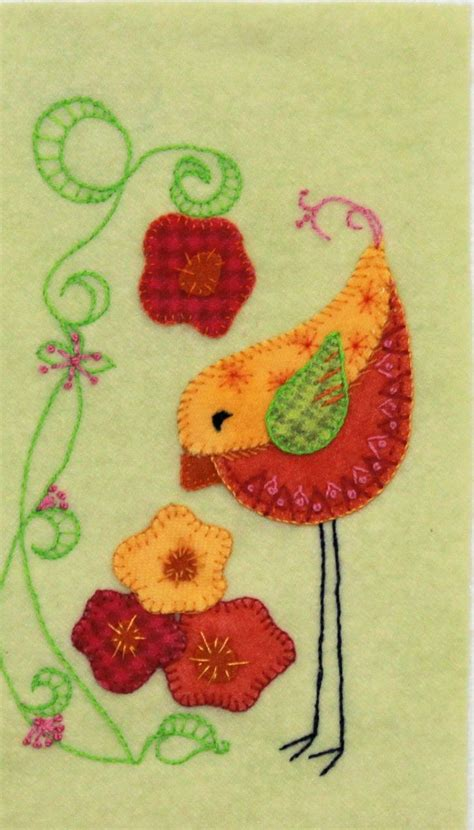 Felt Applique Patterns by The 25 Best Wool Applique Ideas On Felt