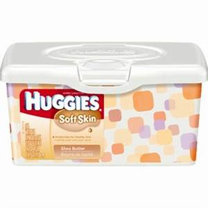 Huggies Soft Skin Wipes with Shea Butter reviews in Baby ...