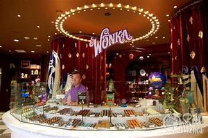 Willy Wonka's Chocolate Factory exists!