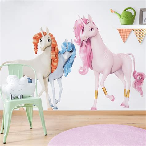 Wandtattoo Kinderzimmer Einhorn by Wandtattoo Kinderzimmer And Me Einh 246 Rner