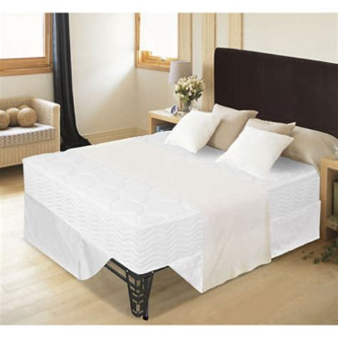 Bed And Mattress Set by 8 Quot Tight Top Mattress Bed Frame Set Size