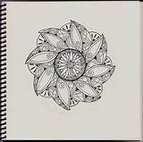 Zentangle Patterns Printable Simple Adults Coloring Sharpie Tj Pen Flickr Bestcoloringpagesforkids sketch template