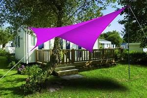Voile D Ombrage Triangulaire 5m : voile d 39 ombrage triangulaire imperm able 5 m ~ Dailycaller-alerts.com Idées de Décoration