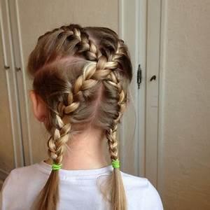 Coiffure Enfant Tresse : idee coiffure enfant ~ Melissatoandfro.com Idées de Décoration
