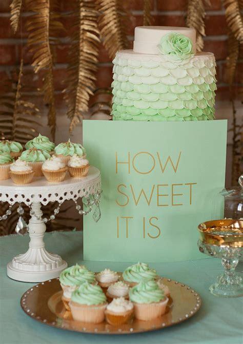 Mint And Gold Wedding Ideas Wedding Inspiration 100