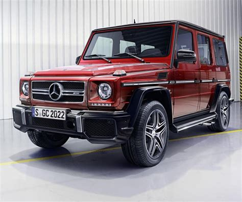 The Legendary Mercedes Gwagon Receive Updates For 2017