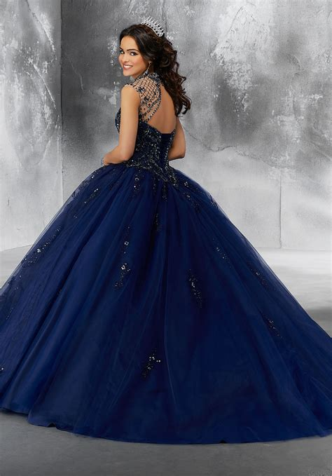 crystal beading   princess tulle ballgown style