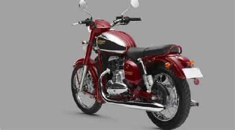 motor jawa resmi meluncur  india   varian