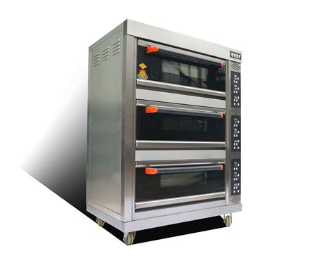 oven electric baking bread deck temperature trays