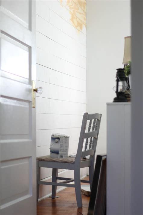 cheap  easy diy shiplap wall farmhouse  boone