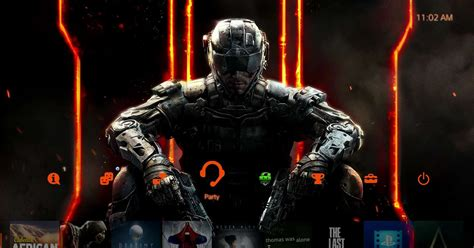 check out the call of duty black ops iii ps4 theme you get with pre orders playstation store