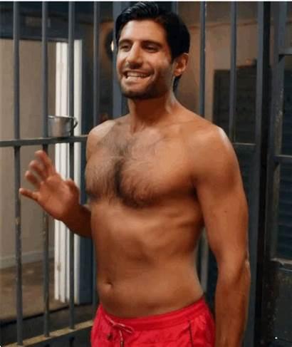 Kayvan Novak Pants Plaid Morning Dick Scene