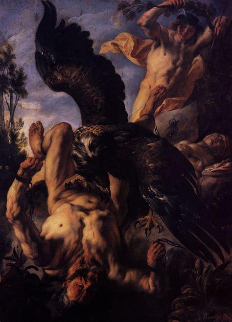 Eagles Album Artwork by Prometheus Bound C 1640 Jacob Jordaens Wikiart Org