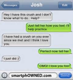 Funny Text Messages Crush