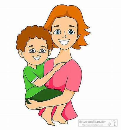 Clipart Clip Boy Mothers Mother Mom Arms