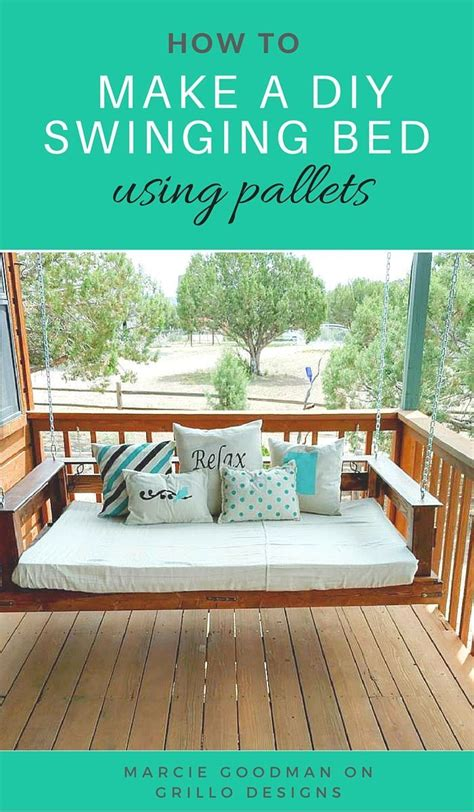 swing tutorial 1000 ideas about pallet swing beds on pallet