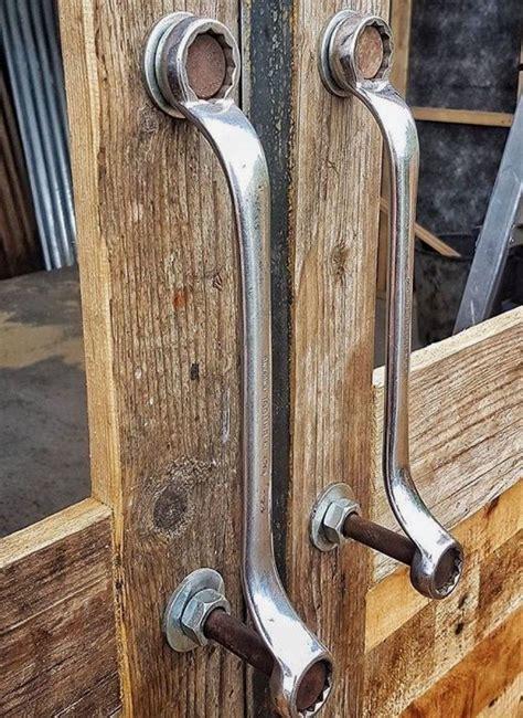 man cave door handles   wrenches byt dizajn