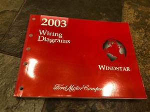 2003 Ford Windstar Wiring Diagrams Electrical Service