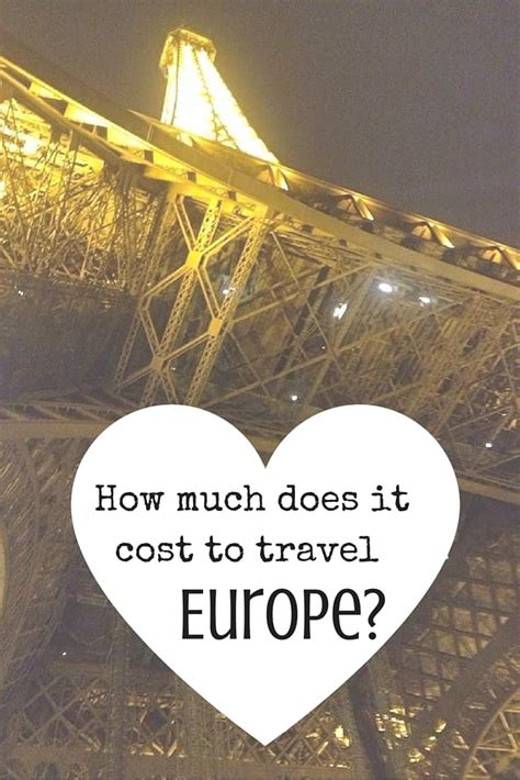 How Much Does It Cost To Backpack Through Europe?