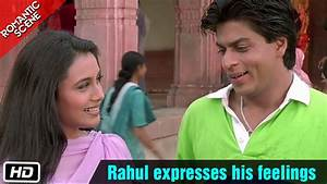 Rahul expresses his feelings - Romantic Scene - Kuch Kuch ...