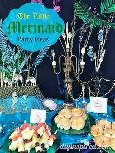 The Little Mermaid Party Ideas - DIY Inspired