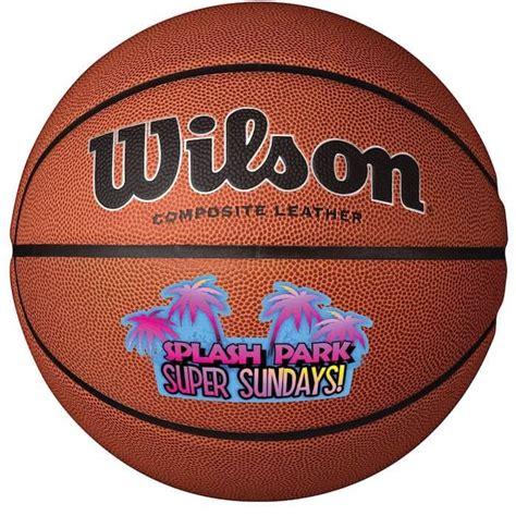wilson premium composite leather basketballs customized