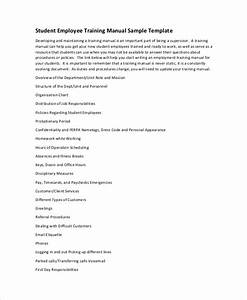 10  Training Manual Template