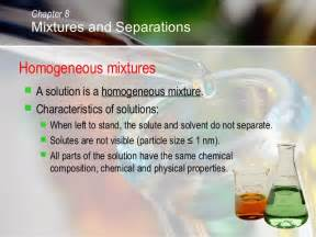 Homogeneous Mixture Examples Food