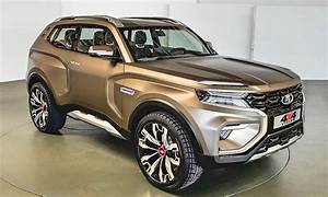 Lada 4x4 2018 : vision suv will replace lada niva after 40 years ~ Medecine-chirurgie-esthetiques.com Avis de Voitures