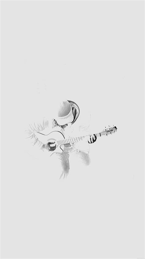 White Wallpaper Iphone 8 Plus by Out The Guitar Player White Iphone 6 Plus
