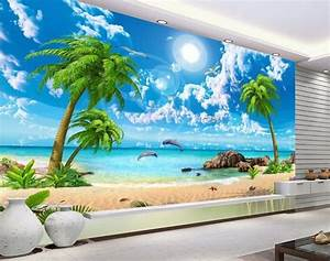 wallpaper scenery for walls custom 3d background With markise balkon mit 3d tapete schlafzimmer