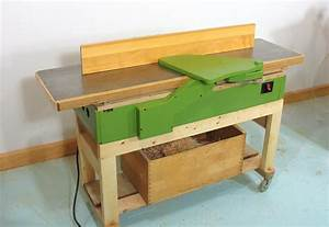 Homemade jointer project