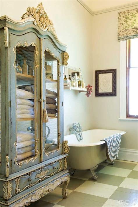 des idees deco pour une salle de bain shabby chic