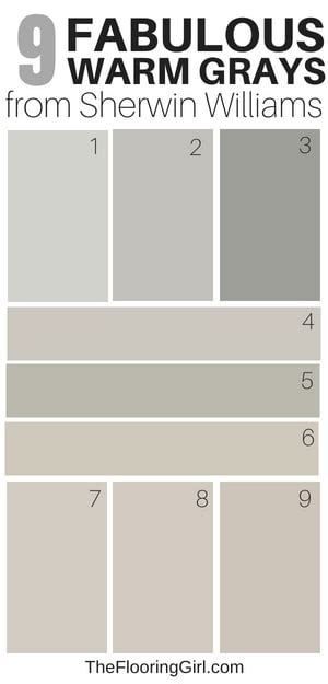 warm grey paint colors sherwin williams 9 amazing warm gray paint shades from sherwin williams the flooring