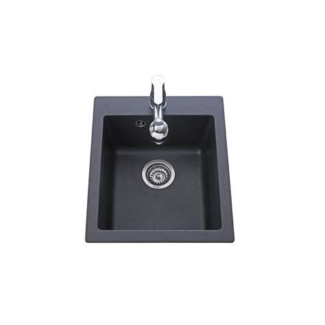 evier granit noir 1 bac sans 233 gouttoir 425x500 simplis
