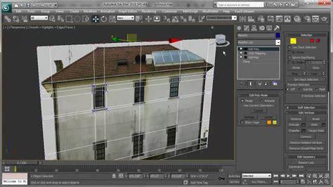 modelar una casa usando texturas en  max youtube