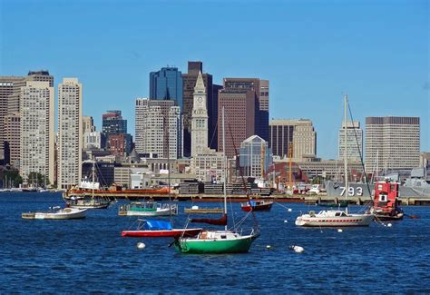 Joes Retirement Blog Boston Harbordowntown Boston