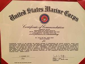 letters notes bells of freedom With usmc certificate of commendation template