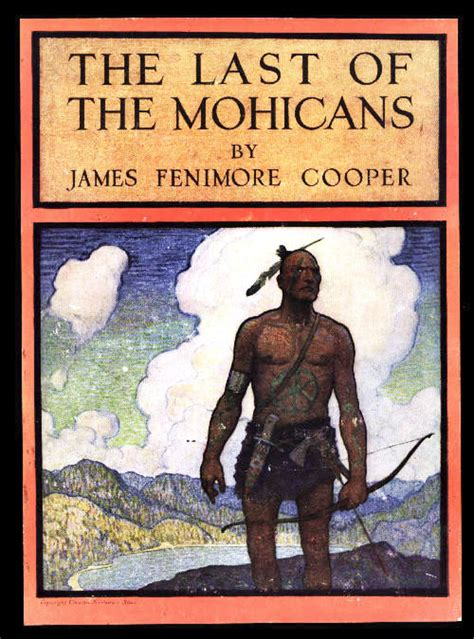 Cooper the Last of Mohicans Book Cover