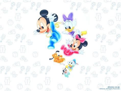 Baby Disney Characters Wallpaper