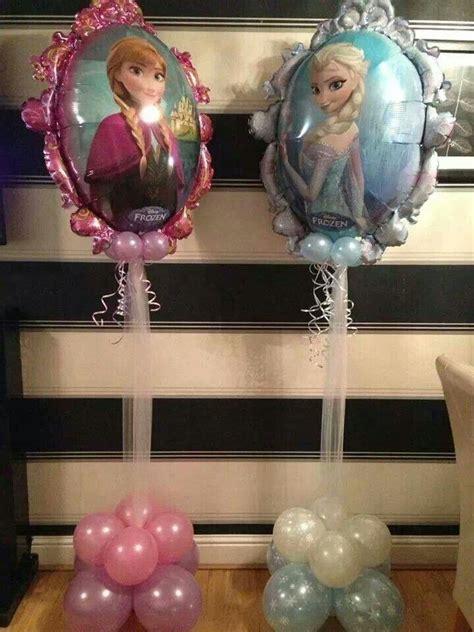 frozendisneydecorationballoon balloon center pieces