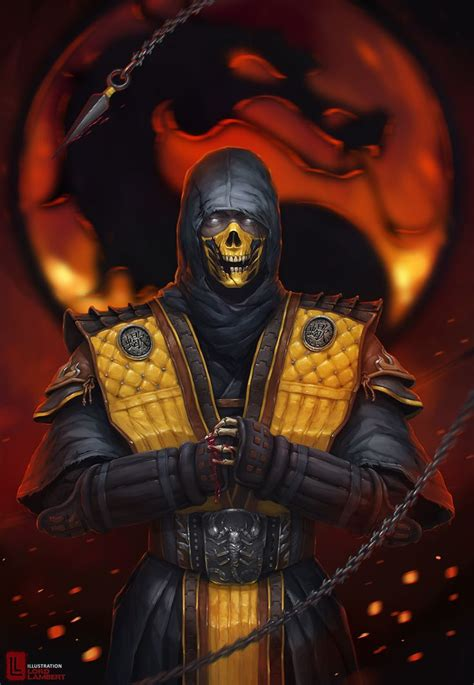 Scorpion Mortal Kombat By Stanislavnovarenko Video