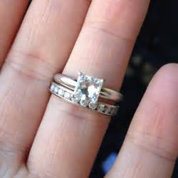 tacori princess cut engagement rings solitaire engagement ring with wedding band 4