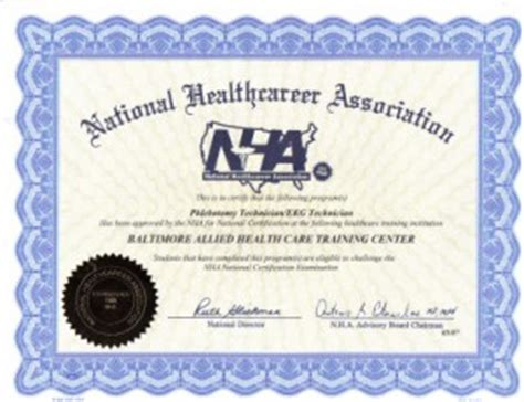 phlebotomy instructor certified   aca