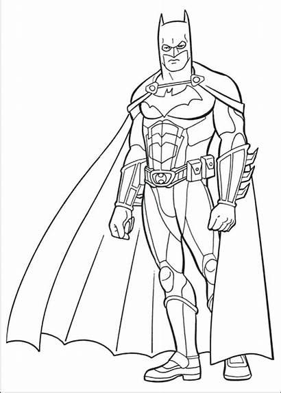 Knight Dark Joker Drawing Coloring Batman Pages