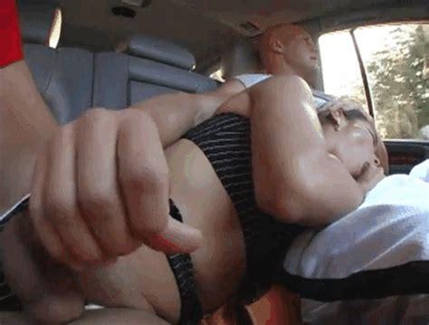 she handjob while driving