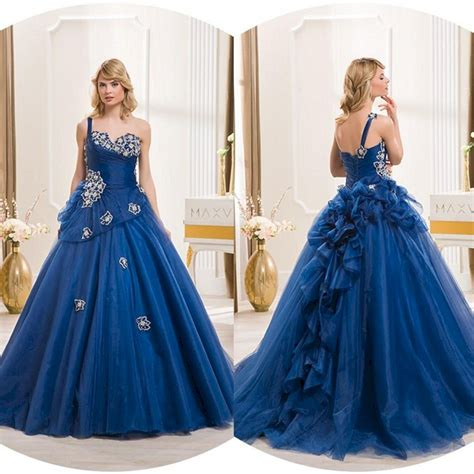 royal blue wedding dresses oosile