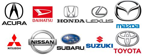 Japanese Car Brands Names List And Logos Of Jdm Cars
